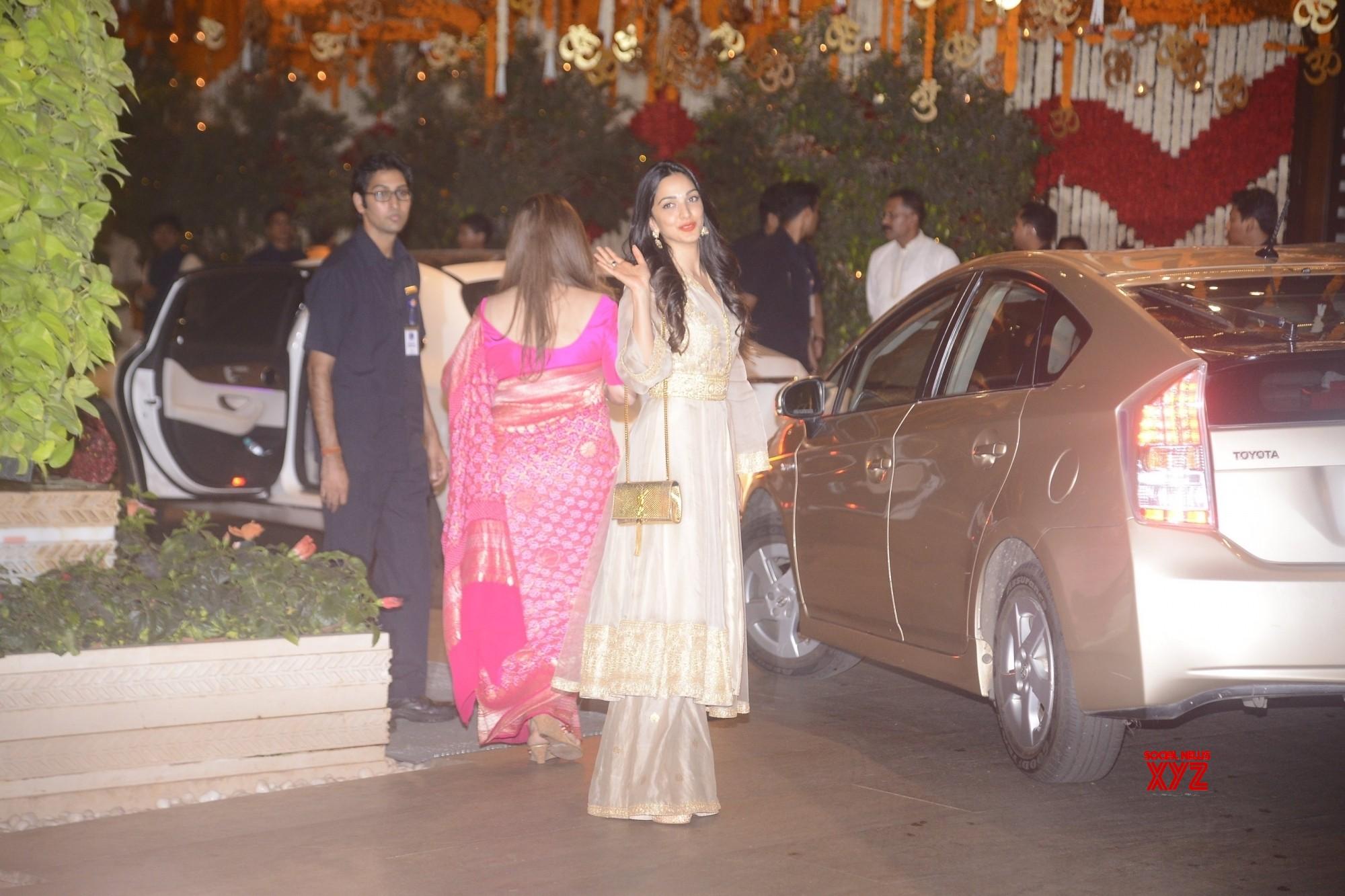 Bollywood stars celebrate Ganesh Chaturthi at Ambani's bash