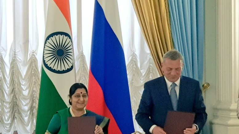 India, Russia set two-way investment target of $50 bn