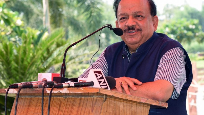 Harsh Vardhan asked to respond on election to LS