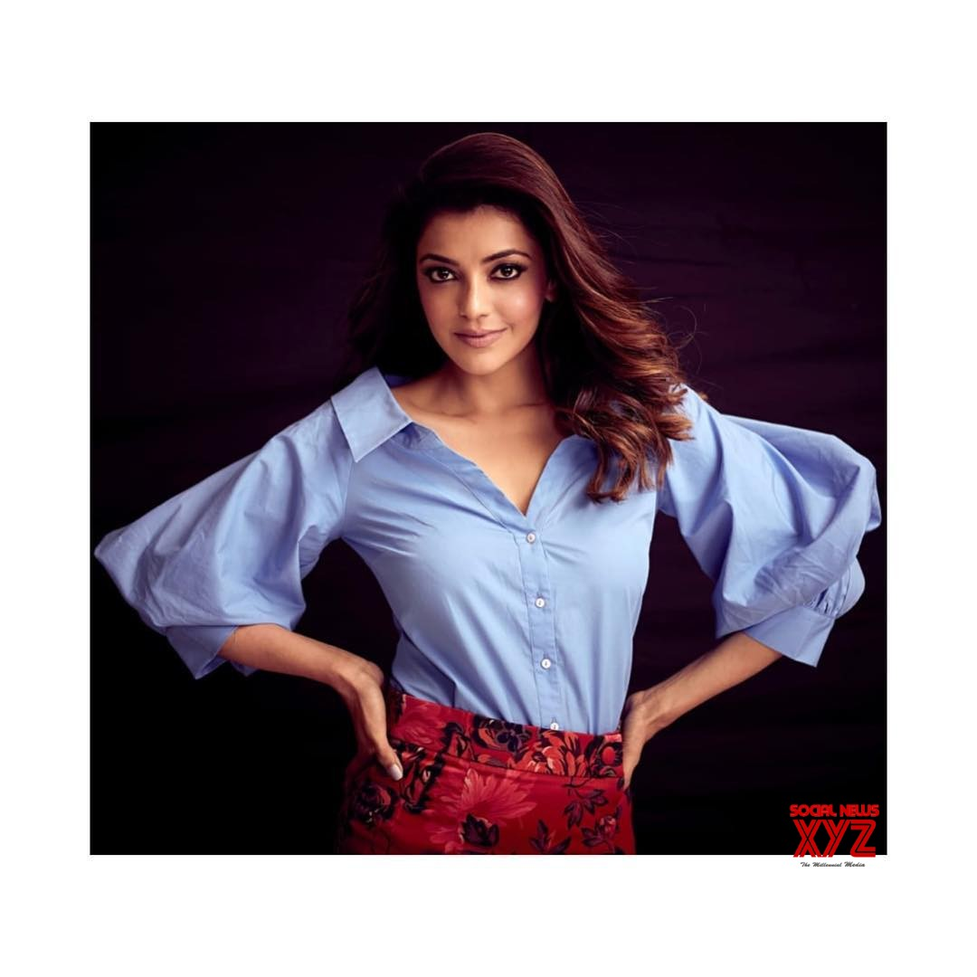 actress kajal aggarwal cute stills - social news xyz