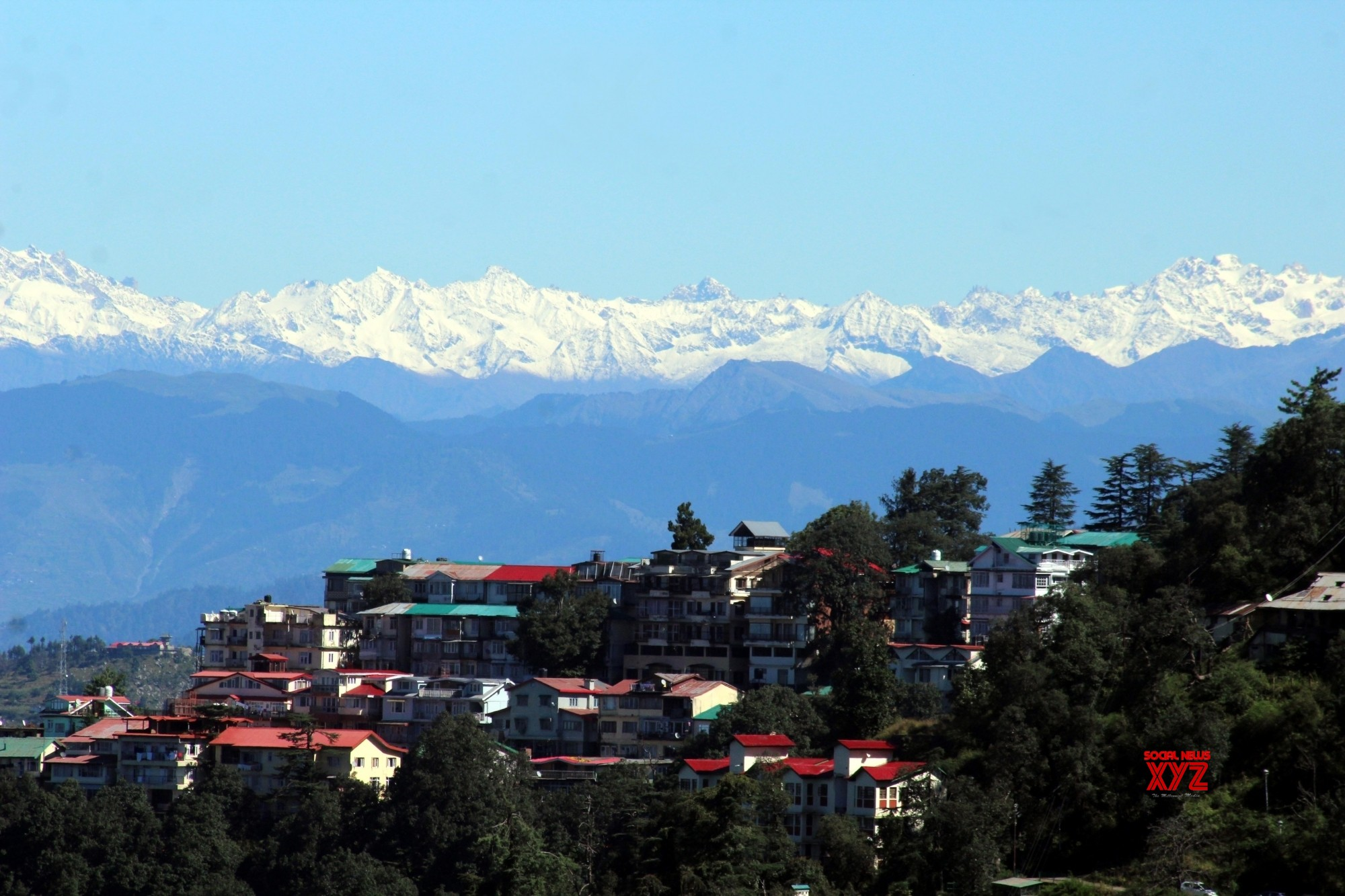 Sunny in Himachal despite freezing weather