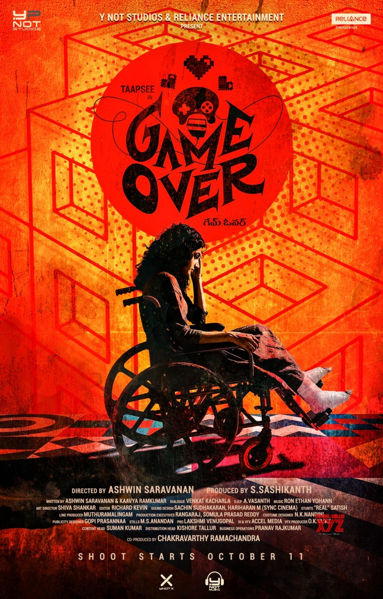 Ashwin Saravanan is excited to be working with Taapsee in 'Game Over'