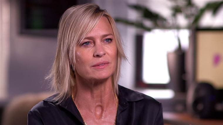 Hoping to direct films: Robin Wright