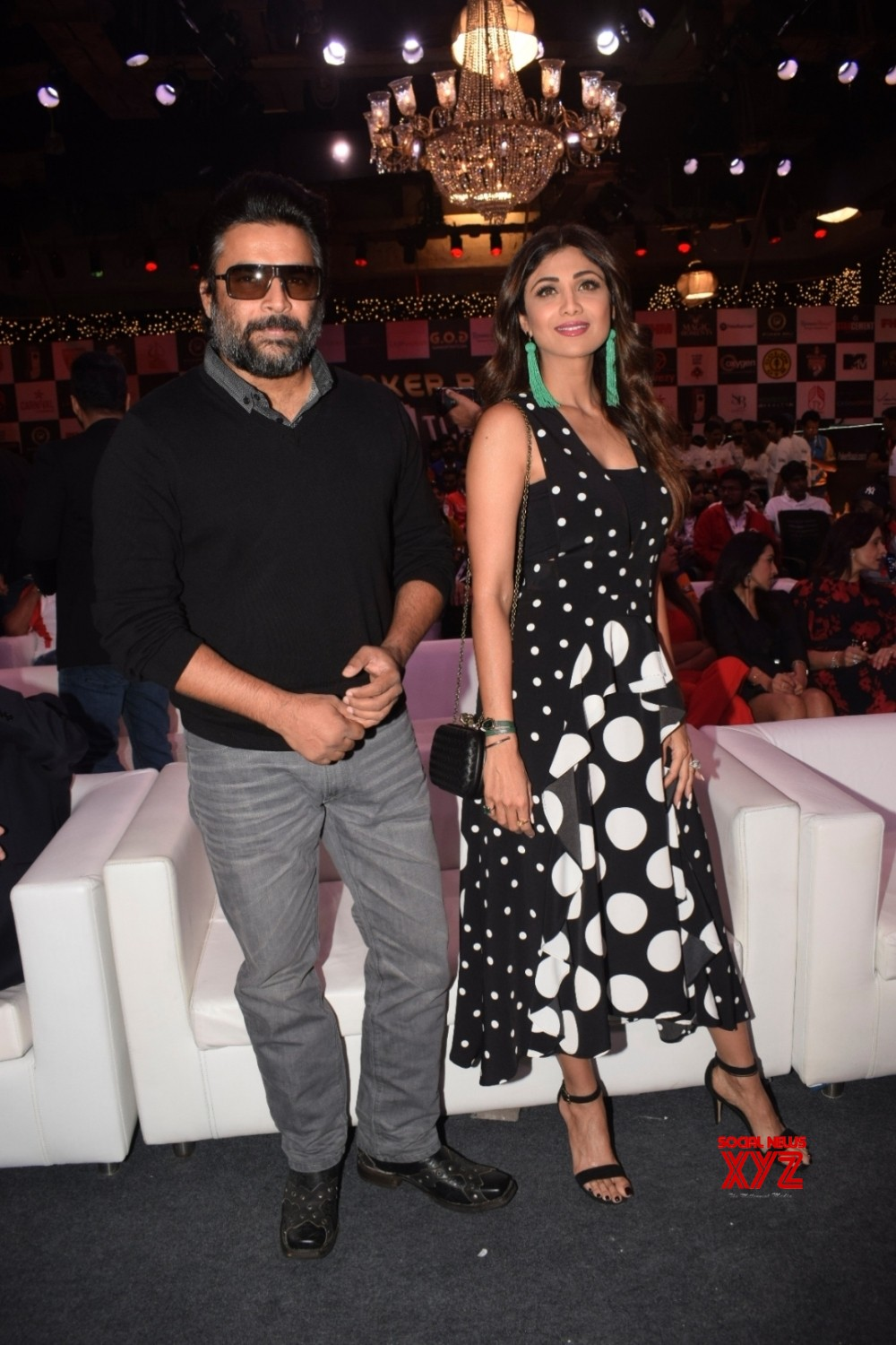 Mumbai: Opening ceremony of Indian Poker league    R Madhavan and Shilpa Shetty Kundra #Gallery