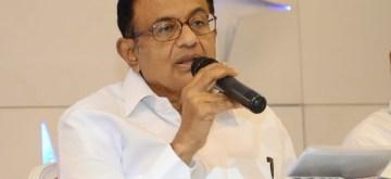 Nagpur: Congress leader P. Chidambaram addresses a press conference, in Nagpur on Sept 1, 2018. (Photo: IANS)