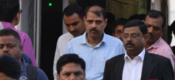 New Delhi: Central Bureau Investigation (CBI) DSP Devender Kumar, who has been sent to seven-day agency's custody by a Delhi court following bribery allegations against its special Director Rakesh Asthana in New Delhi on Oct 23, 2018. Kumar was arrested on Monday on the allegation of falsification of records. (Photo: IANS)