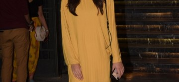 Mumbai: Actress Kriti Sanon seen at Mumbai's Juhu on Oct 30, 2018. (Photo: IANS)