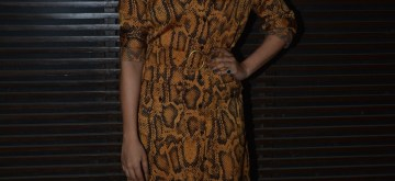 "Mumbai: Actress Sanya Malhotra at the success party of her film ""Badhaai Ho"" in Mumbai on Oct 30, 2018. (Photo: IANS)"