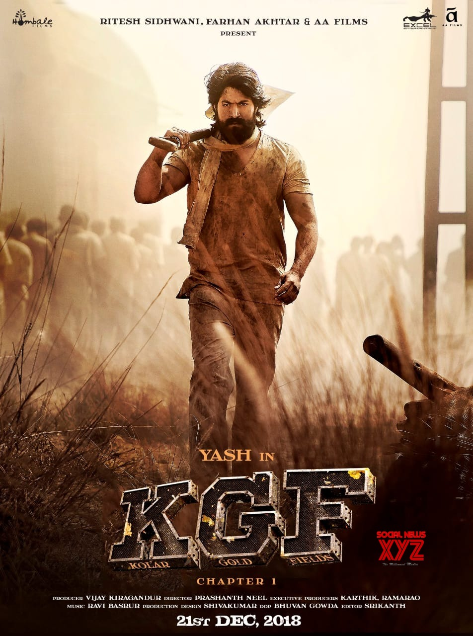 KGF Movie Latest Poster