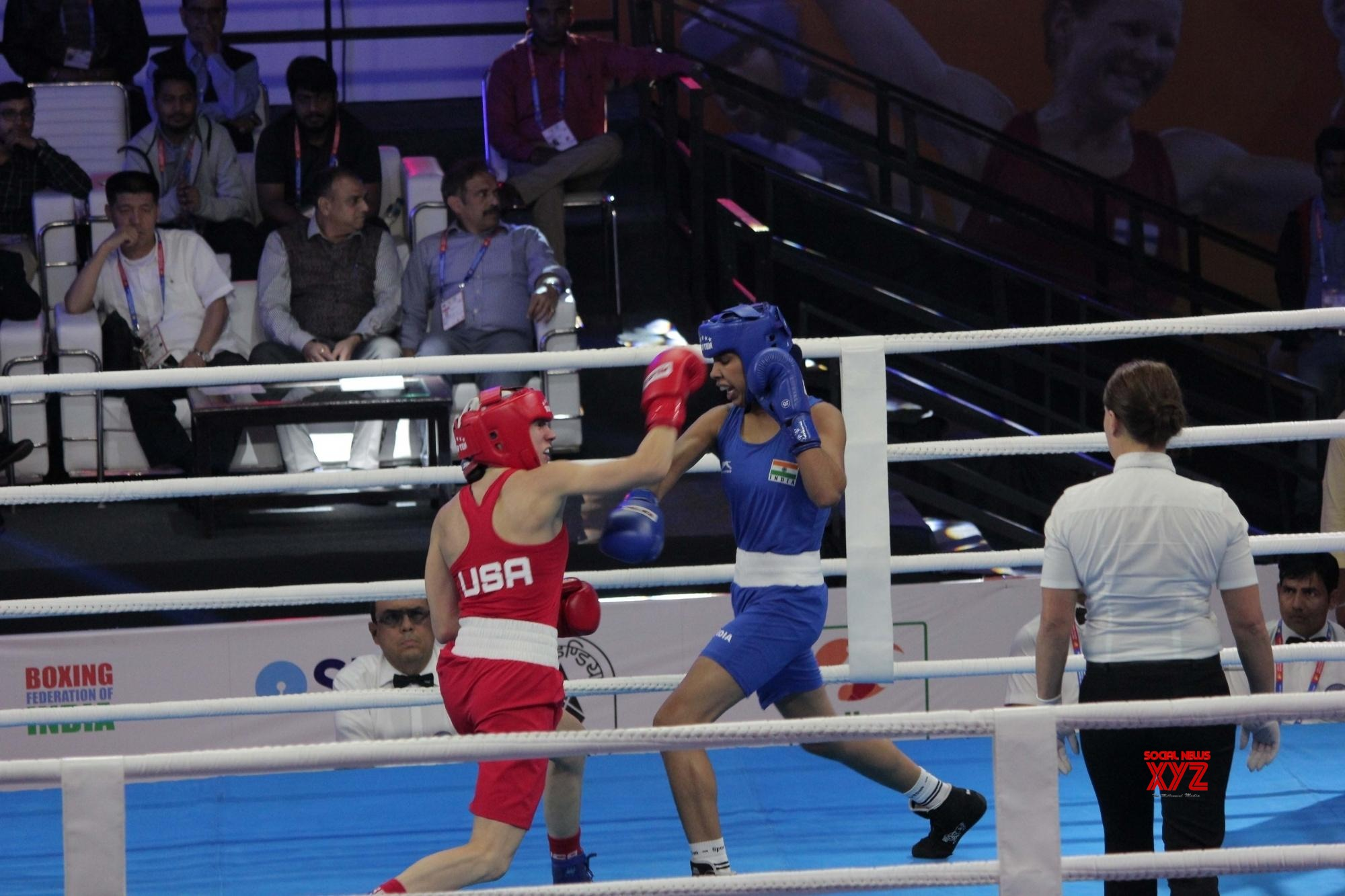 Sarita Devi, Manisha Mouna advance to pre-quarters at World Boxing Championships