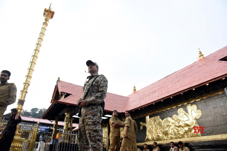 Sabarimala temple opens for 5 days amidst tight security