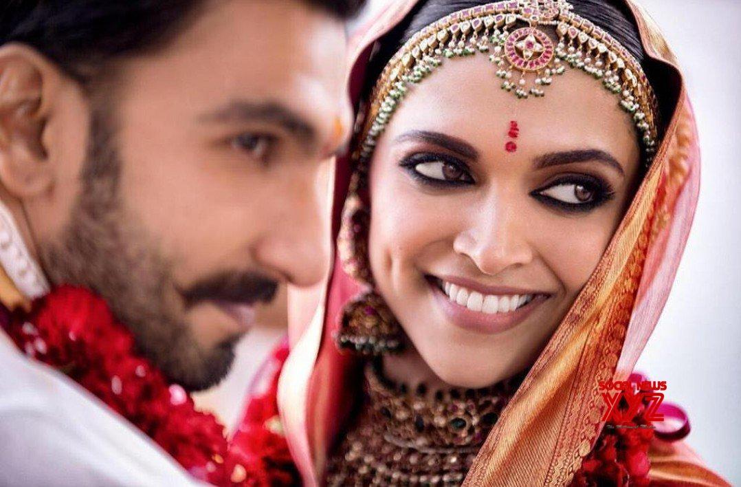 d9f40e121b Ranveer Singh And Deepika Padukone Wedding Stills Set 3 - Social ...