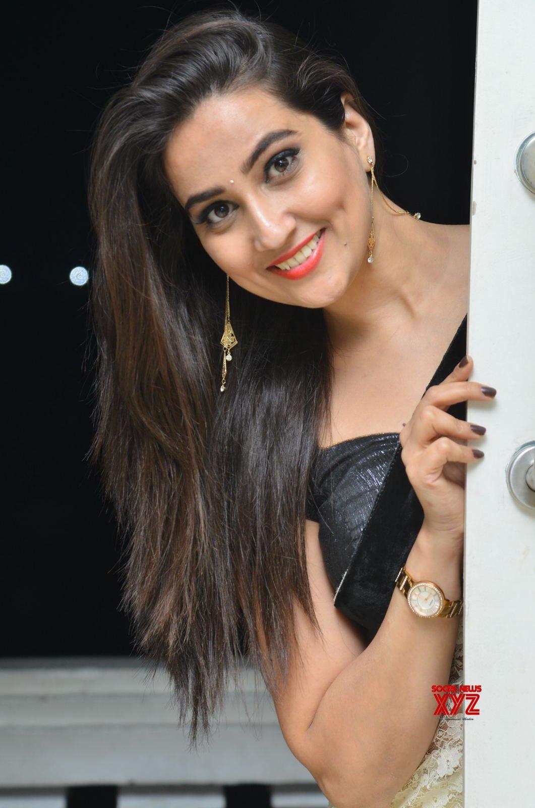 Anchor Manjusha Stills From SubhalekhaLu Movie Pre Release Event