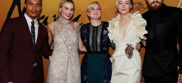- New York, NY - 12/4/18 -Mary   Queen of Scots New York Premiere .The Film Stars Saoirse Ronan and Margot Robbie and   and was directed by Josie Rourke . -Pictured: Ismael Cruz Cordova ,Margot Robbie,Josie Rourke ,Saoirse Ronan and Jack Lowden -Photo by: Dave Allocca/Starpix-Location: The Paris Theatre