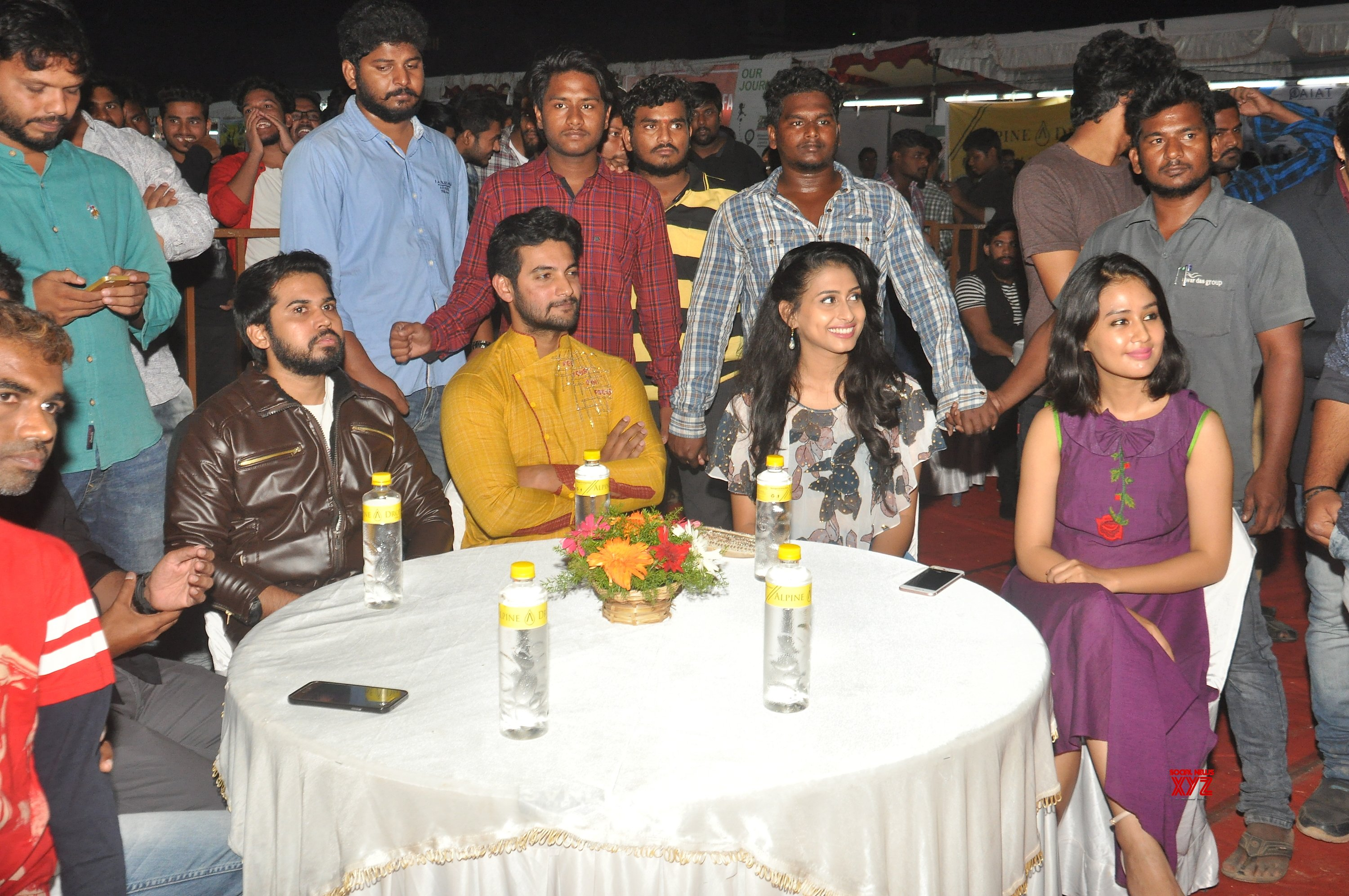 Operation Gold Fish Team At IIAM Vizag HD Gallery