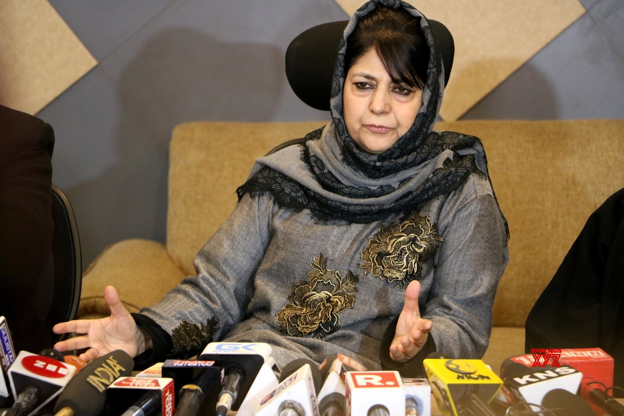 Mehbooba says Governor encroaching on democratic space