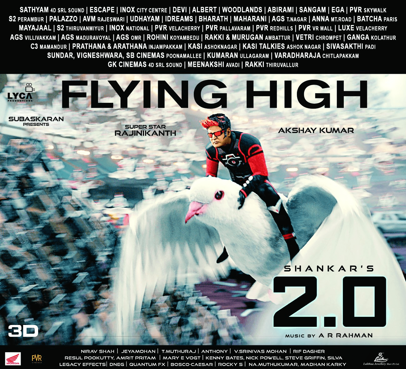 2.0 Movie Flying High Posters