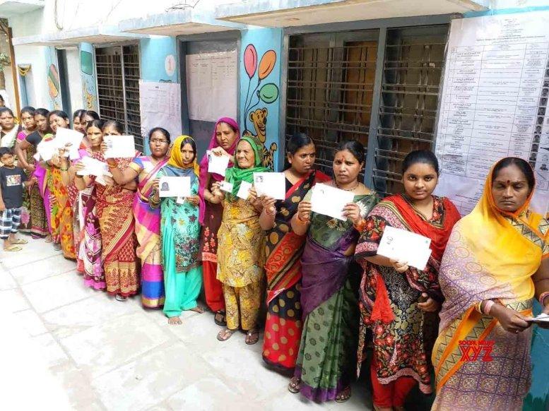 73.2 percent polling in Telangana