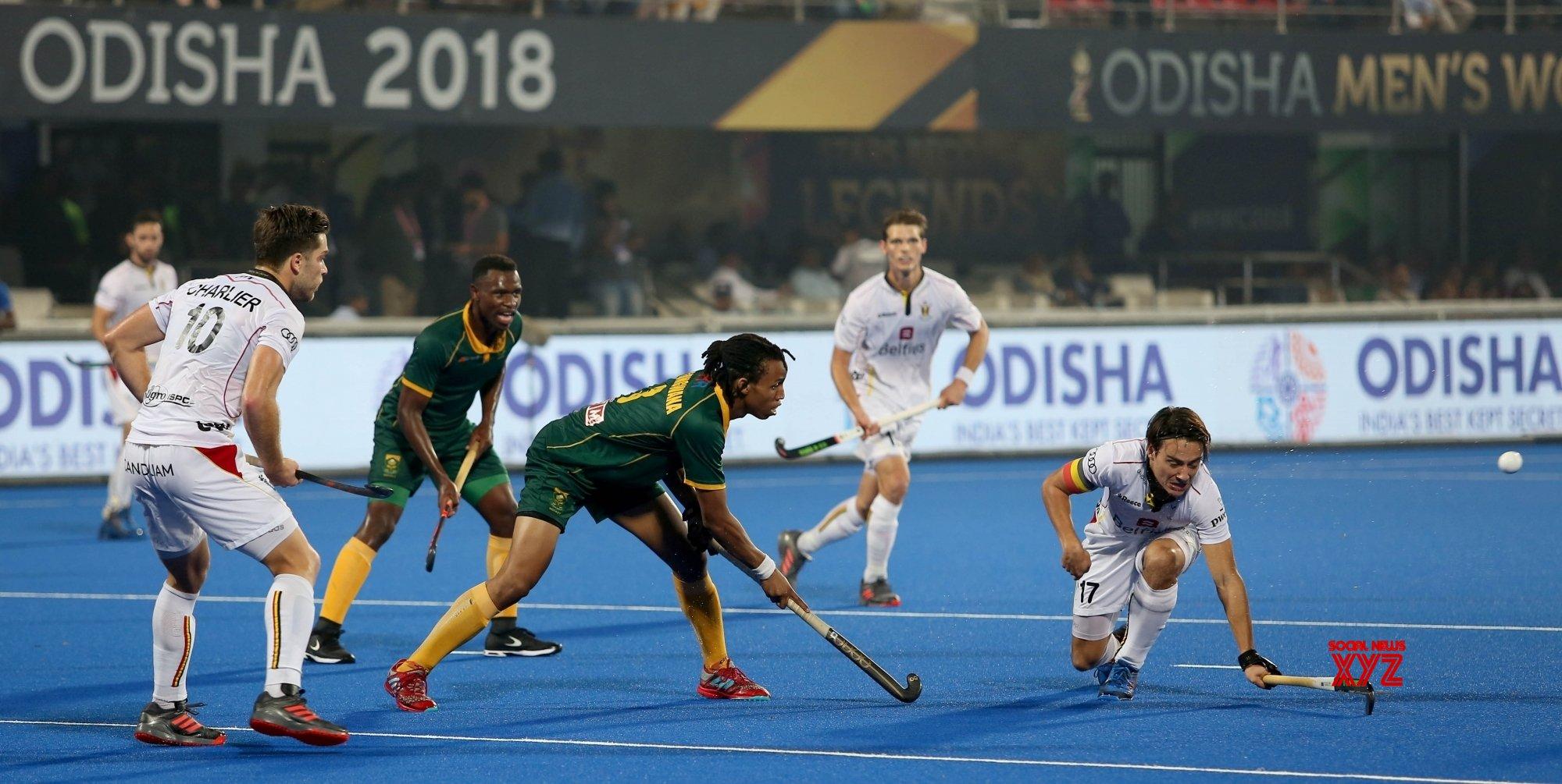 Hockey: Belgium thrash South Africa in last pool match