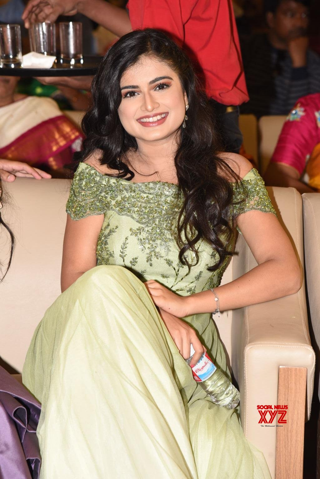 Actress Hemal Ingle Stills From Hushaaru Pre Release Event