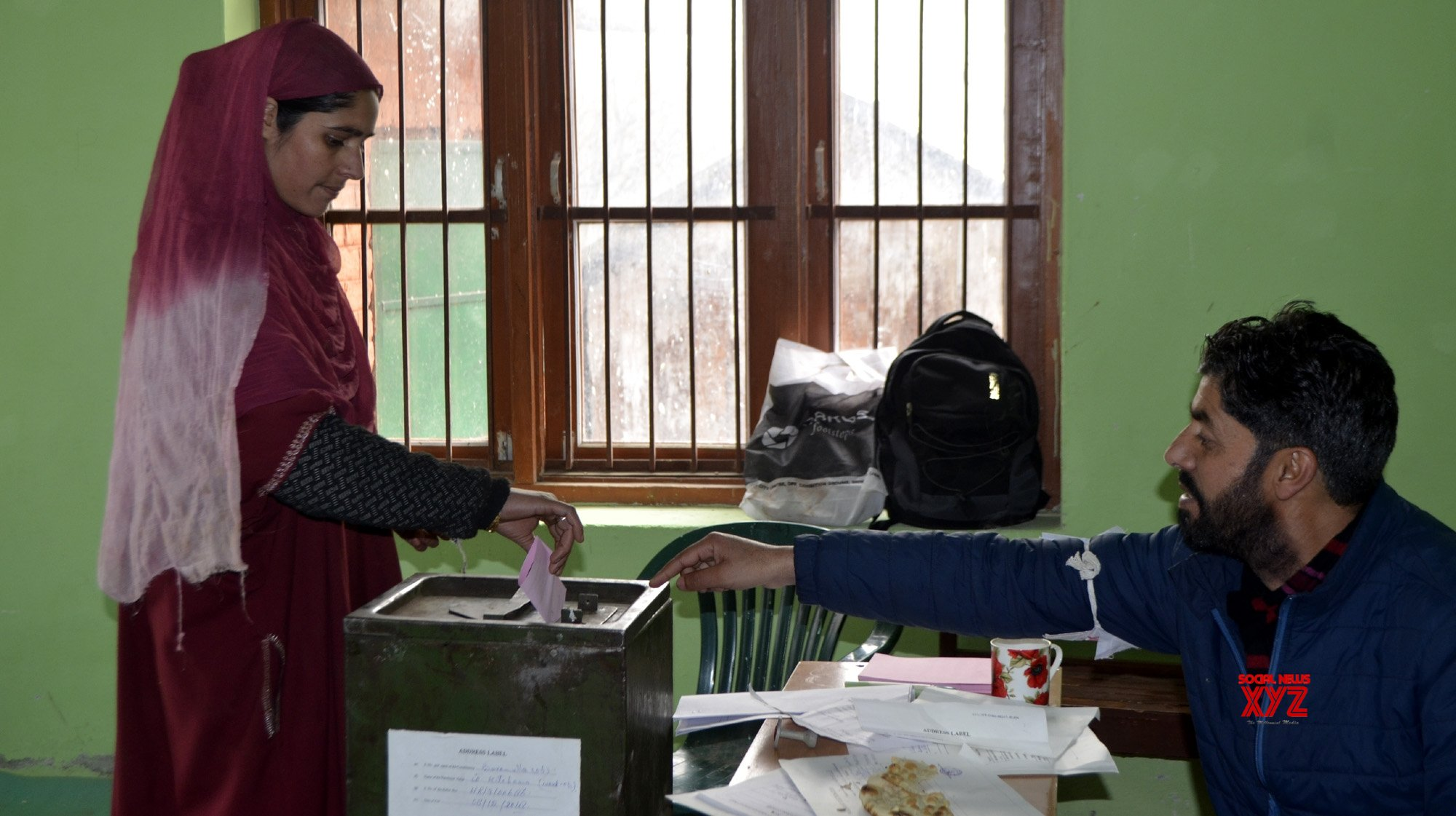 Peaceful polling in J&K panchayat polls 8th phase