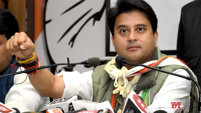 Will strengthen Congress in UP, no alliances: Scindia