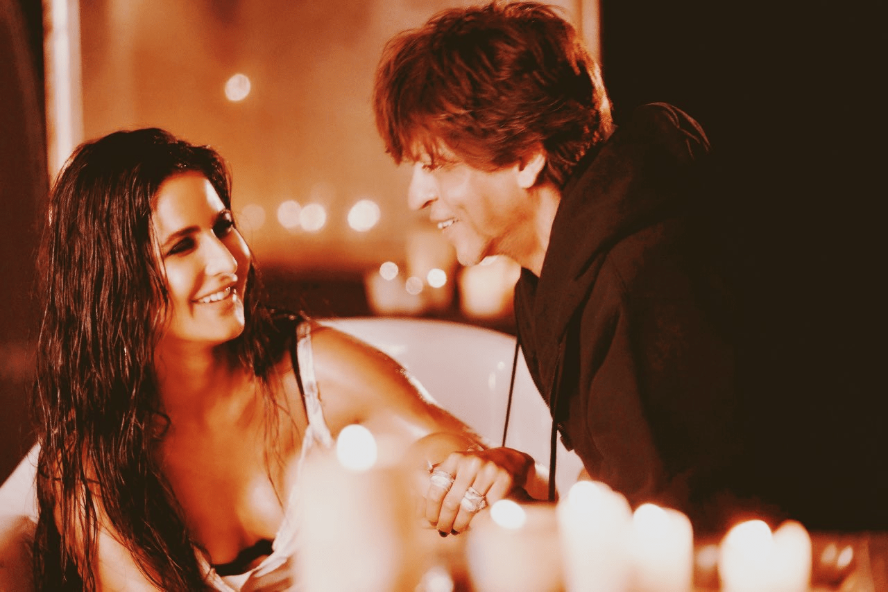 Shah Rukh Khan And Katrina Kaif Still From Zero