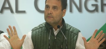 New Delhi: Congress President Rahul Gandhi addresses a press conference in New Delhi on Dec 14, 2018. (Photo: IANS)