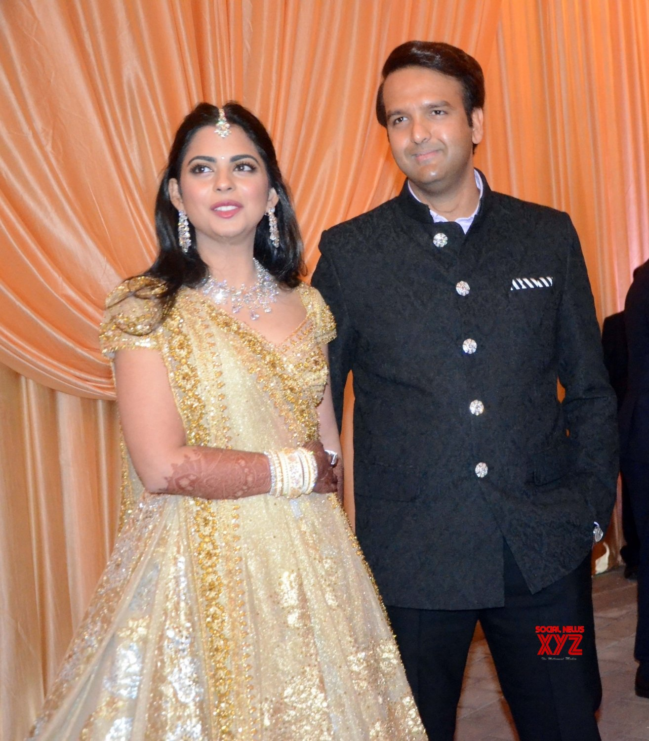 Mumbai: Wedding reception of Isha and Anand Piramal #Gallery