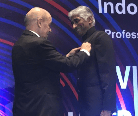 French Govt Honored Hollywood Producer Ashok Amritraj With Chevalier Award