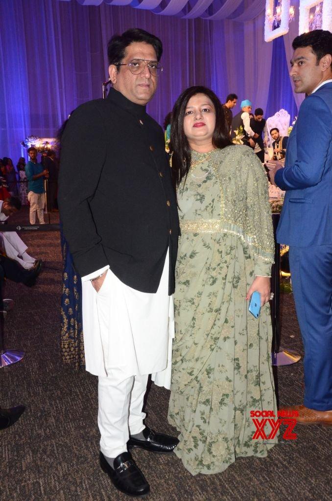 Saina Nehwal And Parupalli Kashyap Wedding Reception At HICC Novotel Gallery Set 2