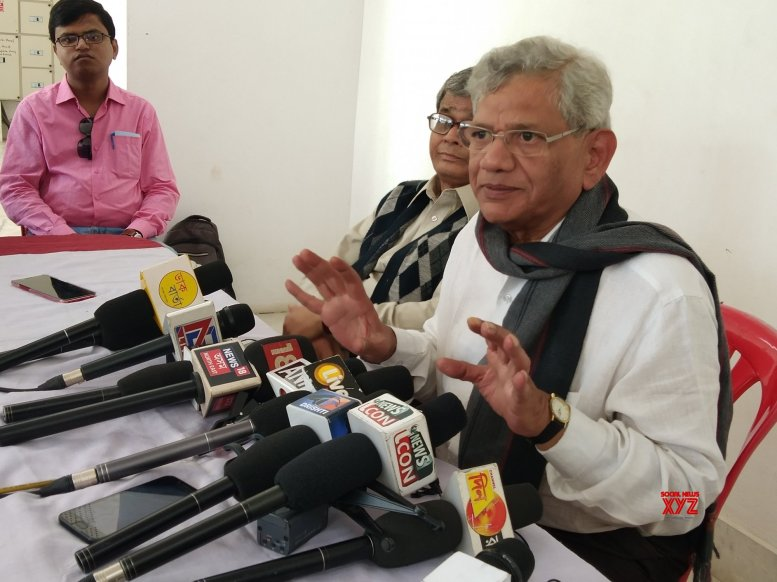 Non-BJP front will come into being post elections: Yechury
