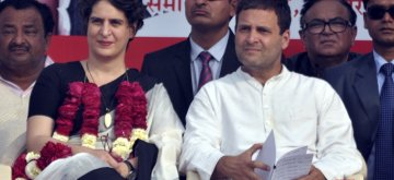 Congress Vice President Rahul Gandhi and his sister Priyanka Gandhi Vadra. (File Photo: IANS)