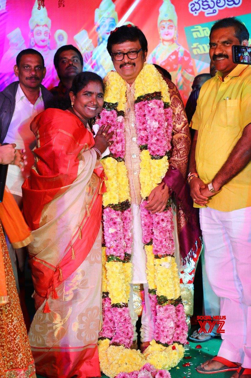 Music Director Koti And Singer Baby Felicitation At A Cultural Event In Vedangi Palem Village On Mukkoti Ekadasi - Gallery