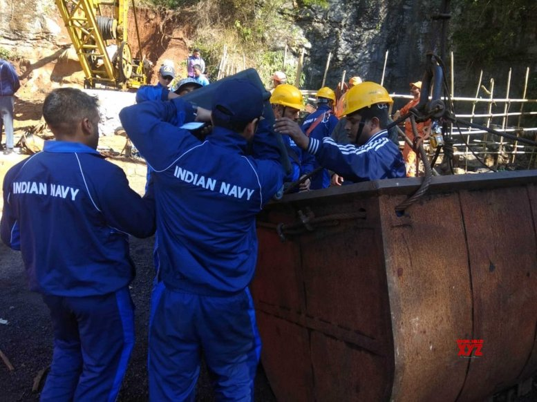 Navy resumes search operations in Meghalaya mine