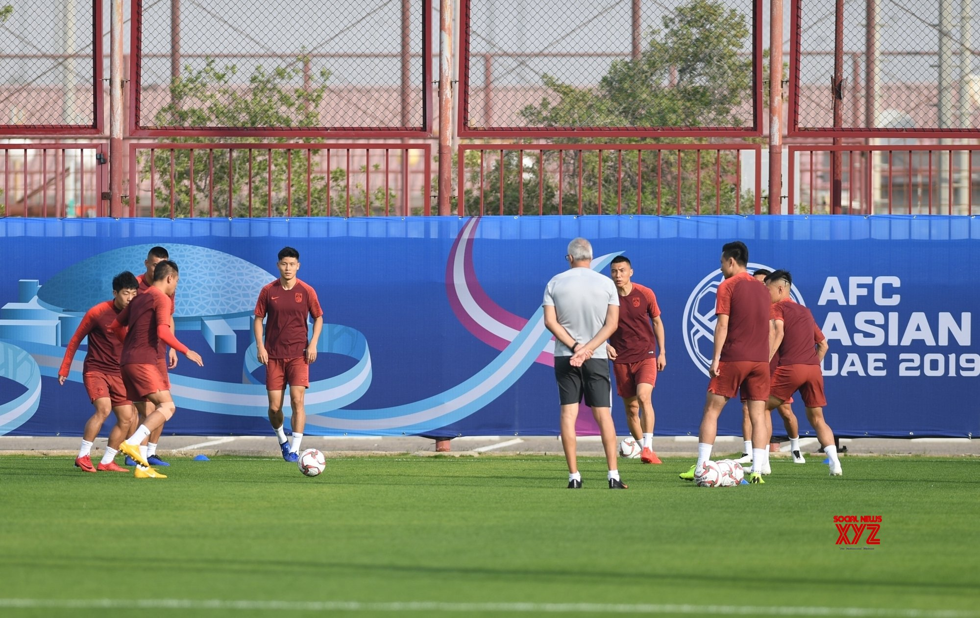 UAE - ABU DHABI - FOOTBALL - AFC - ASIAN CUP - CHINA - TRANING #Gallery