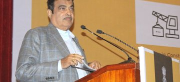 New Delhi: Union Minister for Road Transport and Highways, Shipping and Water Resources, River Development & Ganga Rejuvenation Nitin Gadkari addresses at the presentation ceremony of the National Highways Awards for Excellence - 2018, in New Delhi on Jan 8, 2019. (Photo: IANS/PIB)