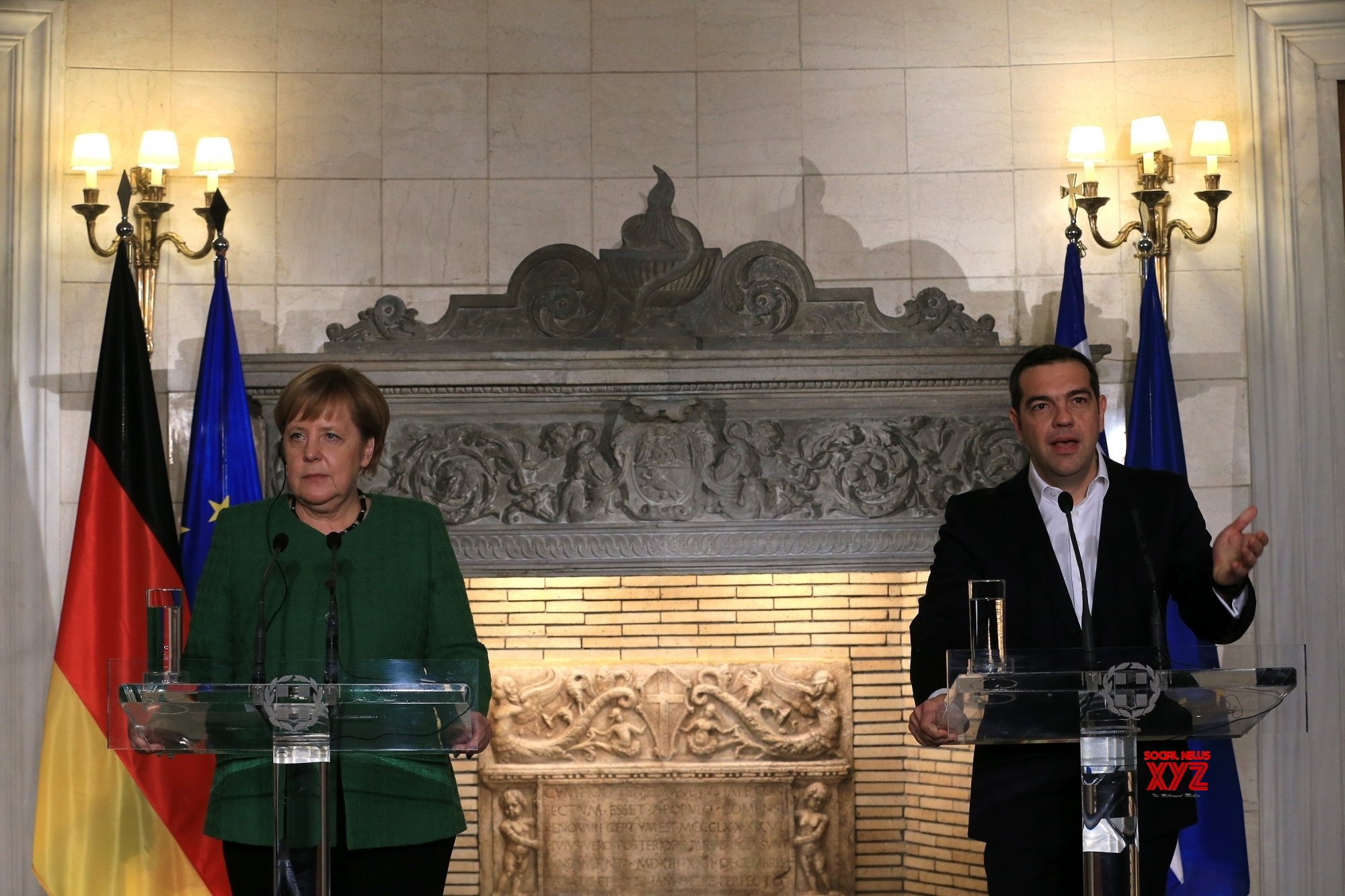 GREECE - ATHENS - GERMANY - MERKEL - VISIT #Gallery