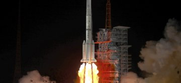 XICHANG, Jan. 11, 2019 (Xinhua) -- China sends Zhongxing-2D satellite into space on a Long March-3B carrier rocket from the Xichang Satellite Launch Center in Sichuan Province at 1:11 a.m., Jan. 11, 2019. The satellite has entered the preset orbit. (Xinhua/Liang Keyan/IANS)