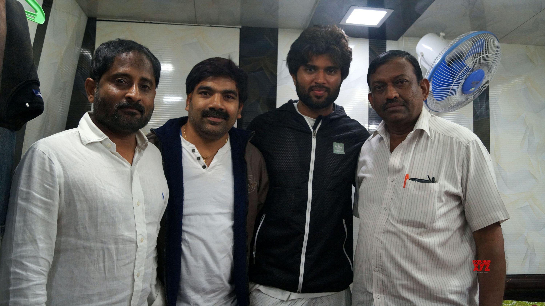 Vijay Devarakonda, Mythri Movie Makers And KTR At RAINBOW Music Video Launch - Gallery