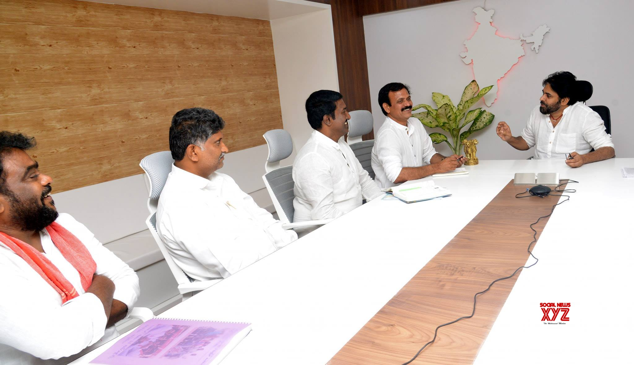 JanaSena Chief Pawan Kalyan Meeting With Krishna District Co - Ordinators - Gallery