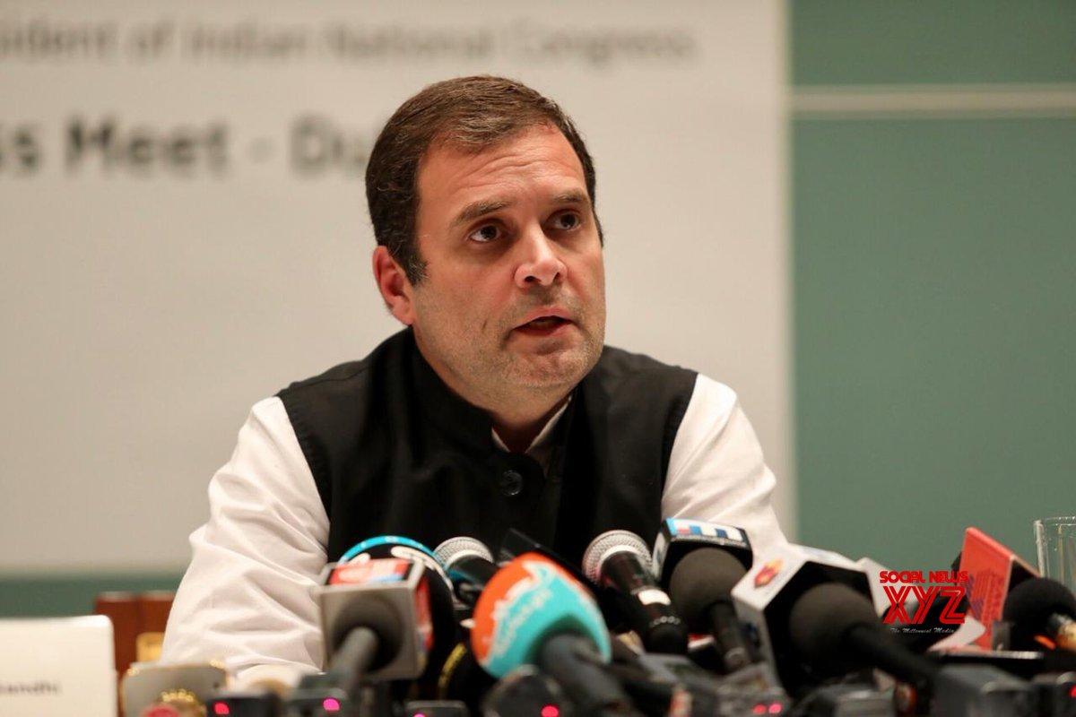 Dubai: Rahul Gandhi's press meet #Gallery