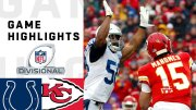 Colts vs. Chiefs Divisional Round Highlights | NFL 2018 Playoffs  (Video)