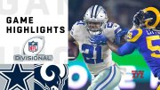 Cowboys vs. Rams Divisional Round Highlights | NFL 2018 Playoffs  (Video)