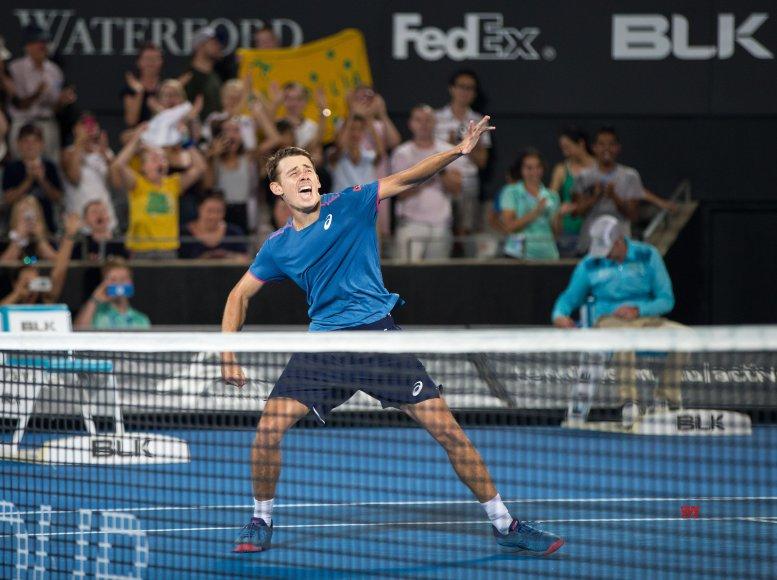 Minaur beats Sousa in straight sets in round 1 of Australian Open