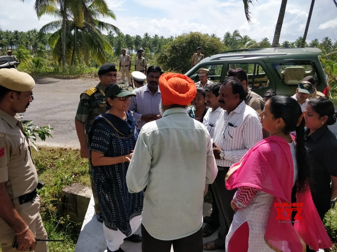 Port Blair: Nirmala Sitharaman meets ex - servicemen and locals #Gallery