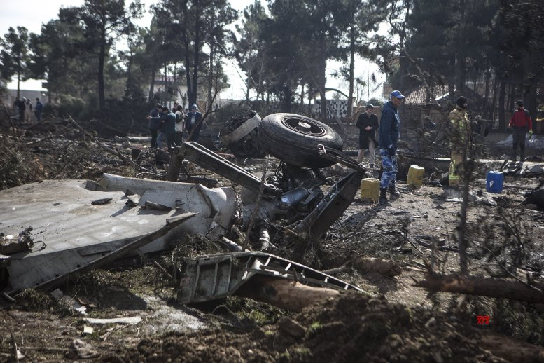 Plane with 10 on board crashes in Iran