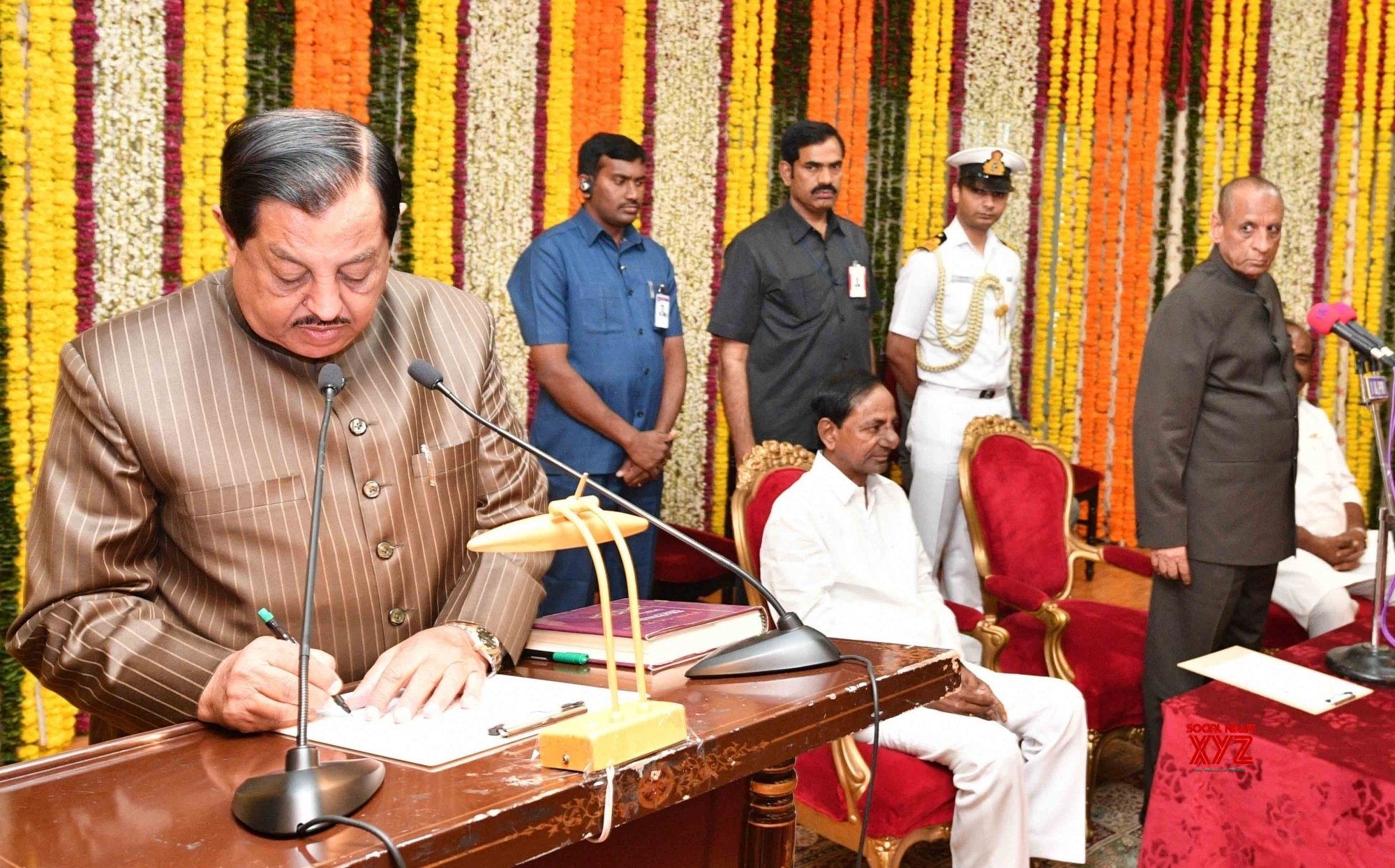 Telangana new Assembly session begins with new Speaker