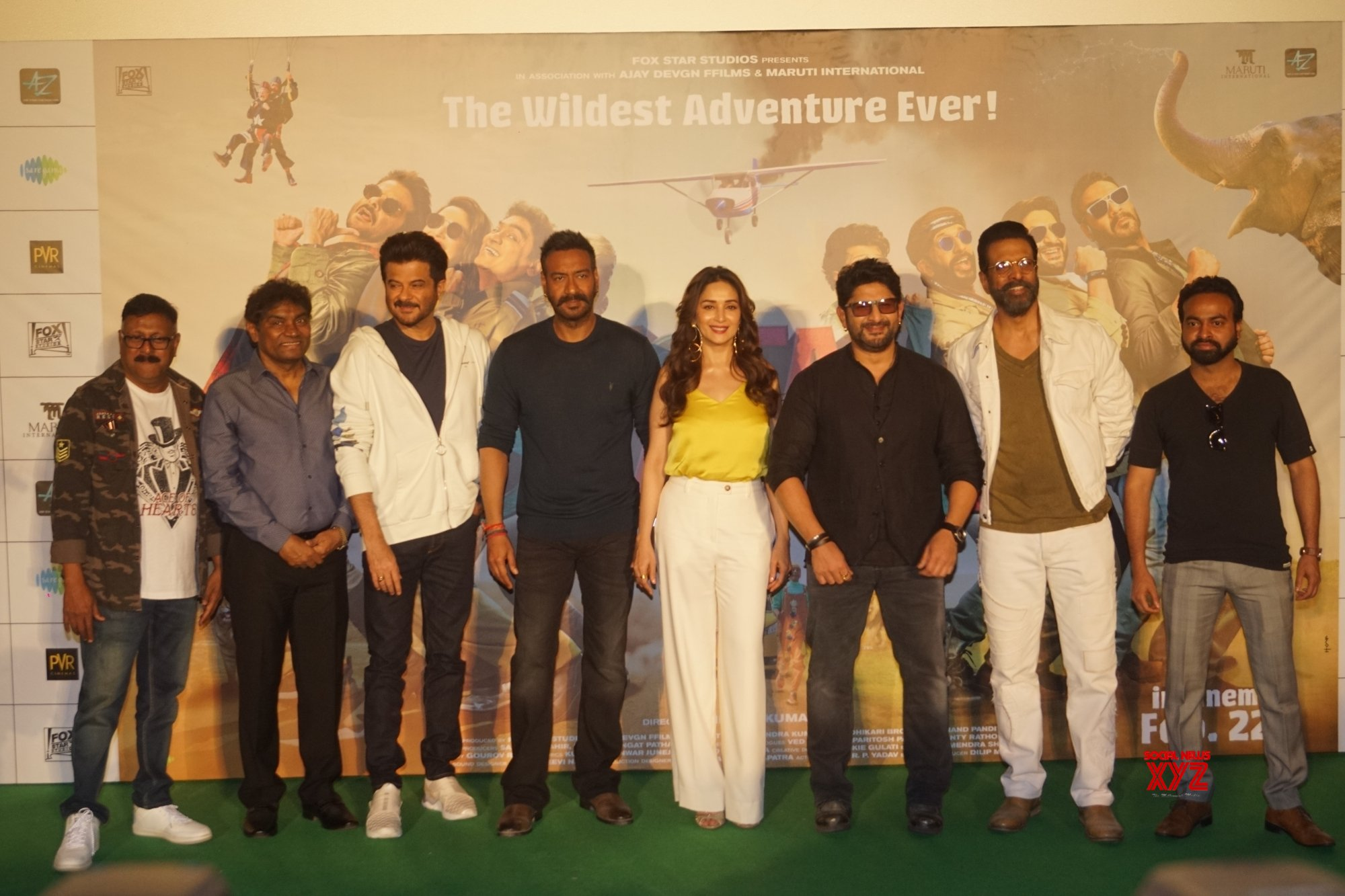 "Mumbai: Film ""Total Dhamaal"" trailer launch #Gallery"