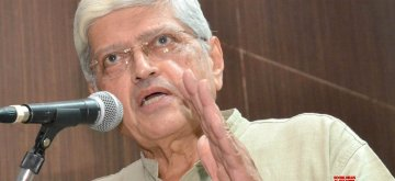 Opposition`s vice-presidential candidate Gopalkrishna Gandhi. (File Photo: IANS)